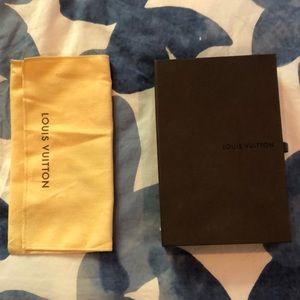 Louis Vuitton dust bag box and Robin